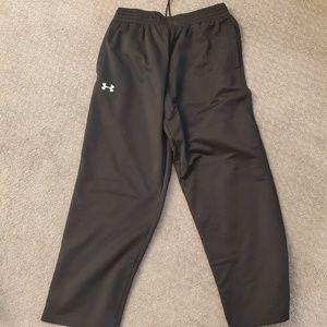 Black Under Armour sweatpants